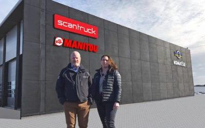 Söderberg & Haak och Scantruck flyttar ihop. Välkommen till Öppet Hus.