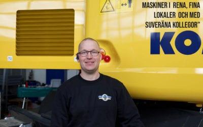 Japansk Komatsu-perfektion blir till svensk Söderberg & Haak-standard
