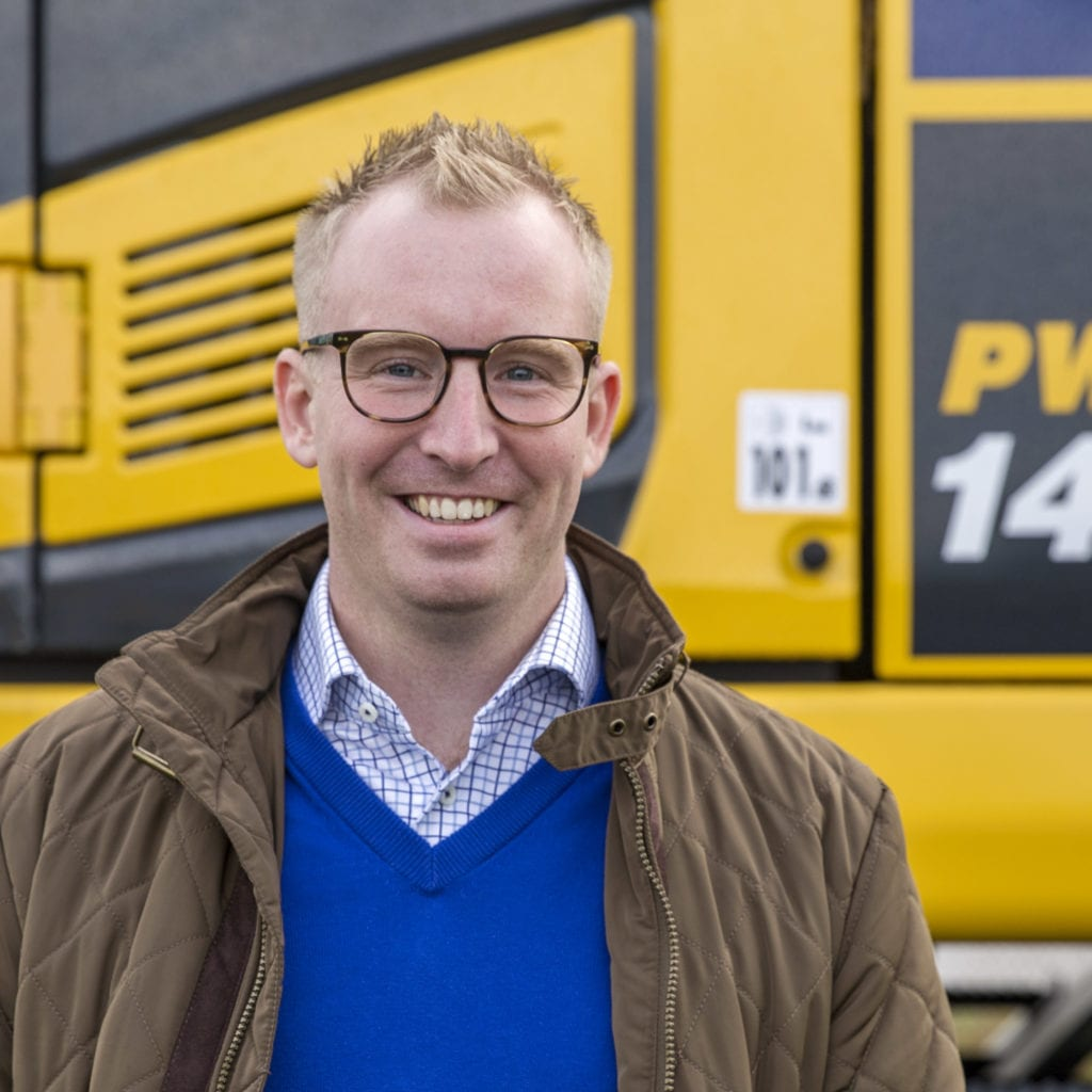 Anton Svensson ny säljare av Komatsu