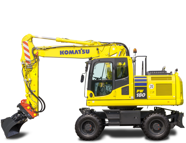 Komatsu hjulgrävare PW 180-10
