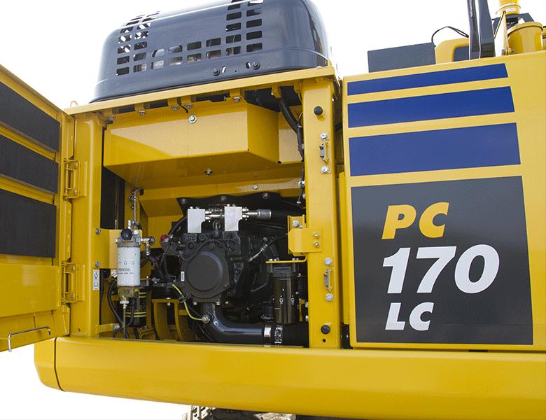 Komatsu bandgrävare PC170-11