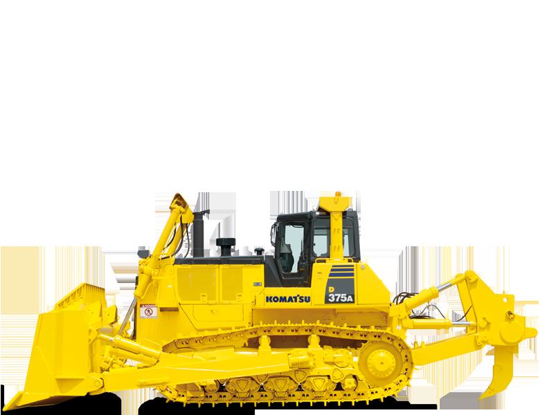 Komatsu bandschaktare D375A-6