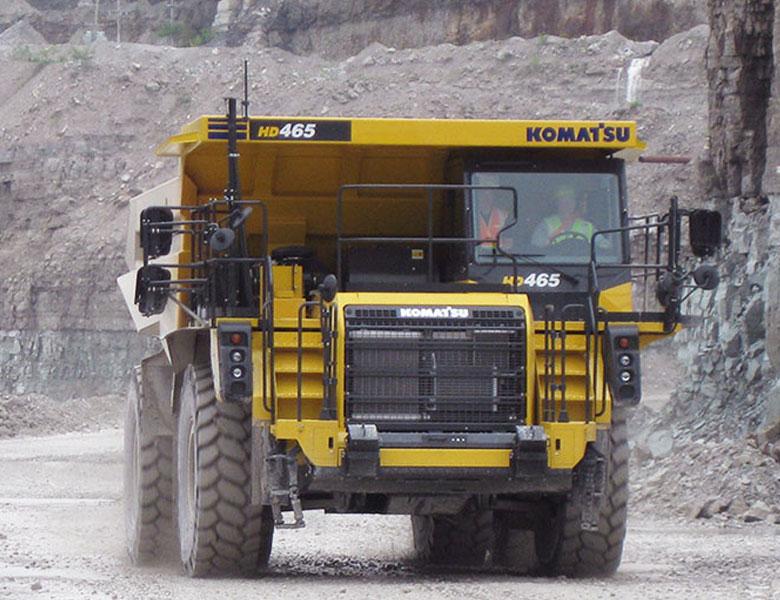 Komatsu tipptruck HD465-8