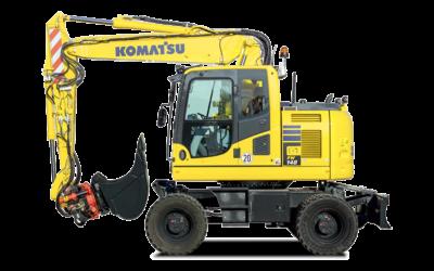 Komatsu hjulgrävare PW148-10