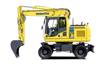 Komatsu hjulgrävare PW160-10