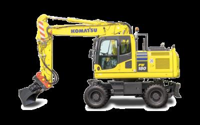 Komatsu hjulgrävare PW180-10