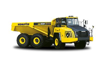 Komatsu midjestyrda dumper HM400-5