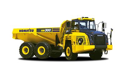 Komatsu midjestyrda dumper HM300-5
