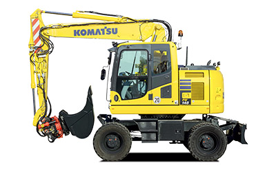 Komatsu hjulgrävare PW148-11