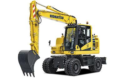 Komatsu hjulgrävare PW158-11