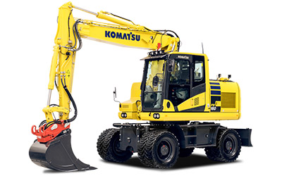 Komatsu hjulgrävare PW160-11