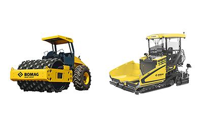 Bomag heavy equipment